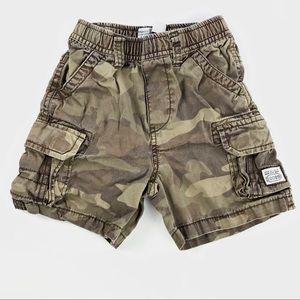 The children's place camo shorts